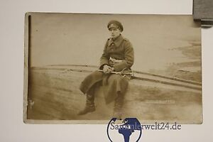 alte Foto AK Soldaten mit Säbel   Bulgarien um 1917