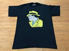 LARGE - NOS Vtg 80s Chester Gould Dick Tracy Single Stitch T-shirt USA