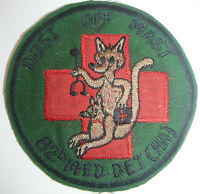 Helicopter Ambulance - PATCH - 82nd MAST - Dust Off - US ARMY - Vietnam War, 948