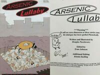 Arsenic Lullaby 16 Signed Sketch Doug Paszkiewicz Lullabies Mad HTF Low Print VF
