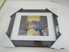 ART PICTURE MOVIE POSTER SIGNED AUTOGRAPH DISNEY BELLE  BEAUTY BEAST PAIGE OHARA