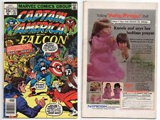 CAPTAIN AMERICA #217 *1st APPEARANCE WENDELL VAUGHN (QUASAR) 1978 FALCON MARVEL