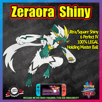 Shiny ZERAORA Master Ball | Perfect 6IV* | Pokemon Sword Shield [FAST DELIVERY]