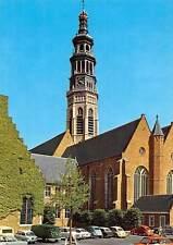 Netherlands Middelburg Lange Jan Tower Church Eglise Voitures Cars
