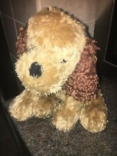 Soft Plush Toys Tesco Creamy Brown Puppy Dog J36