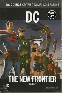 °JUSTICE LEAGUE THE NEW FRONTIER #2 DC GRAPHIC NOVEL COLLECTION #47° English New