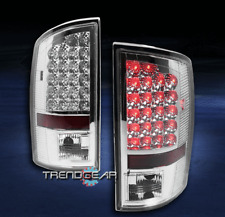 2007-2008 DODGE RAM 1500/2500/3500 TRUCK LED ALTEZZA TAIL BRAKE LIGHT CHROME NEW