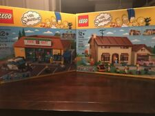 LEGO The Simpsons House ( 71006 ) + The Kwik-E-Mart ( 71016 ) Brand New Sealed