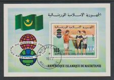 Mauritania - 1977 World Cup sheet - F/U - SG MS567
