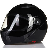 New Design 5 Colors ILM 115 DOT Dual Visor Flip Up Motorcycle Helmet Full Face