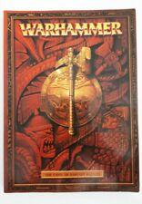 WARHAMMER FANTASY BATTLE paperback rulebook (2000, Games Workshop)