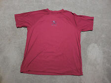 Life Is Good Run Good Move Shirt Adult Large Red Dri Fit Gym Exercise Mens S