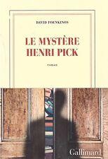 DAVID FOENKINOS LE MYSTERE HENRI PICK + PARIS POSTER GUIDE