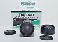Tamron AF Tele Macro 90-300mm f4.5-5.6 Lens - 89FH Hood - Sony A Mount Minolta