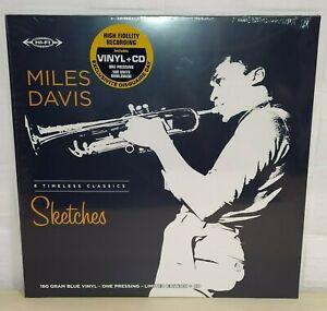 MILES DAVIS - SKETCHES - BLUE - RSD 2021 - LP + CD