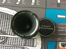 Pentax Super-Macro-Takumar 1:4/50 Camera Lens Tested Works!