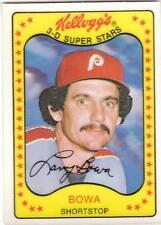 LARRY BOWA 1981 Kelloggs card #43 Philadelphia Phillies EX+/NR MT