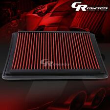 RED WASHABLE HIGH FLOW AIR FILTER FOR 05-08 F-150-F-350 LINCOLN MARK LT 5.4L