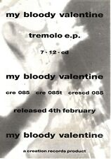2/2/91 Pgn23 Advert: My Bloody Valentine tremolo Ep Creation Records 7x5