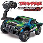 Traxxas Slash 4x4 Ultimate VXL Brushless Short Course RC Truck GREEN 68077-4