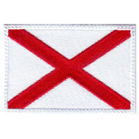 Alabama Flag Embroidered Patch
