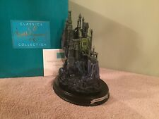 "WDCC Sleeping Beauty - Maleficent's Castle ""Forbidden Fortress"" + Box & COA"