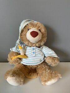 Gund Bedtime Bear Animated Talking Plush Candle Night Shirt Cap 4031697