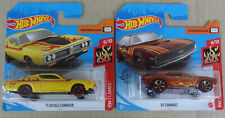Hot Wheels 2020 - '71 Dodge Charger + '67 Chevrolet Chevy Camaro - HW Flames