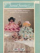Scented Sweeties I Crochet Air Freshener Doll Dresses Fibre Craft Leaflet FCM351