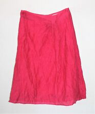 Veronika Maine Designer Raspberry Chiffon A Line Skirt Free Size 6 LIKE NE #SJ20