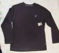 $36 Beverly Hills Polo Club Men's Black Long Sleeve T Brand New with Tags SIze M