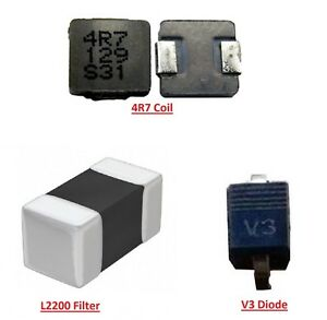 For iPad 2 3 4 & Mini Back Light Repair Kit Diode Filter & Coil Replacement