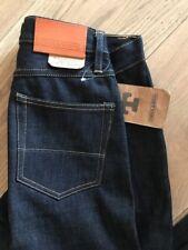 """Tellason Ladbroke Grove Delgado Cónico Hombres Jeans Denim 14.75 OZ (approx. 418.15 g). 31""""."""