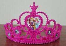 Very nice DISNEY RAPUNZEL pink crown in the hair, TANGLED hair acessories