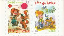 Fête du timbre 2002 - paire P3467A YT