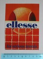 ADESIVO STICKER VINTAGE AUTOCOLLANT ORIGINALE ANNI '80 ELLESSE 9x13 cm