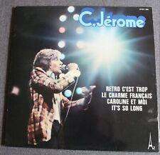 C. Jerome, retro c'est trop, LP - 33 tours