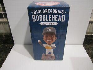 Didi Gregorious New York Yankees 2016 Bobblehead Collectible #3 NIB