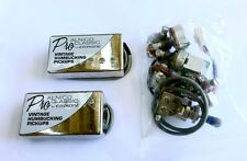 TWO SETS ONLY Epiphone ProALNICO Classic 57 Humbucker Pickup CHROME for Guitar