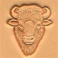 Buffalohead 3d Herramienta De Sello De Cuero-Craf sello Buffalo Head 8845800