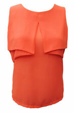 Size Regular Solid Casual Sleeveless Tops & Blouses for Women