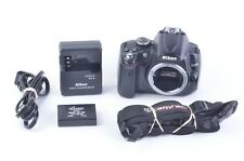 GOOD NIKON D5000 12.3MP DSLR BODY ONLY w/BATT+ CHARGER 206K ACTS, WORKS GREAT