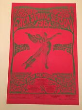 Pacific Ballet Poster Dance 1967 San Francisco Vintage 2 Sided Schepf Graham