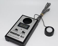Megatron DL3 Digital Lightmeter / Photometer with case and working – VGC Tested