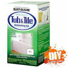 RUSTOLEUM Rust-Oleum White Tub & Tile Paint Refinishing Kit Bathtub & Tile Paint