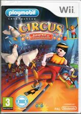 PLAYMOBIL: CIRCUS GAME (Balance Board) WII ~NEW /SEALED