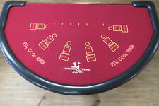 Antique Pai Gow Poker Layout from Vacation Village Casino Las Vegas