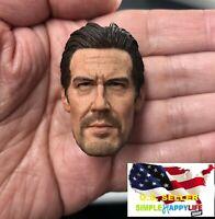 "1/6 Josh Brolin male head for phicen hot toys 12"" figure deadpool Avengers ❶USA❶"