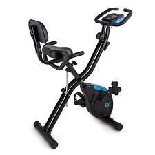 Cyclette Pieghevole Richiudibile Schienale Camera Home Fitness Ergometrica 3Kg