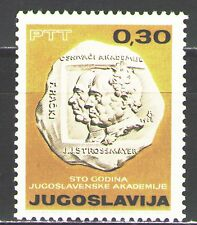Yugoslavia1966 Sc826  Mi1183 1v  mnh  Centenary of Academy of Arts and Science